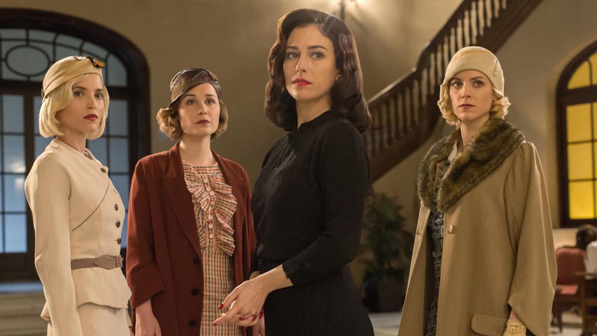 Las protagonistas de Las chicas del cable.