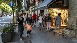 Los establecimientos de la ciudad condal vuelven a abrir tras la crisis sanitaria