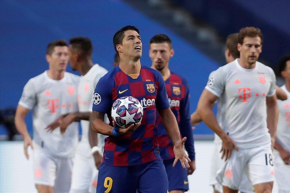 Resultado Barcelona Bayern Ocaso Vergonzoso 2 8