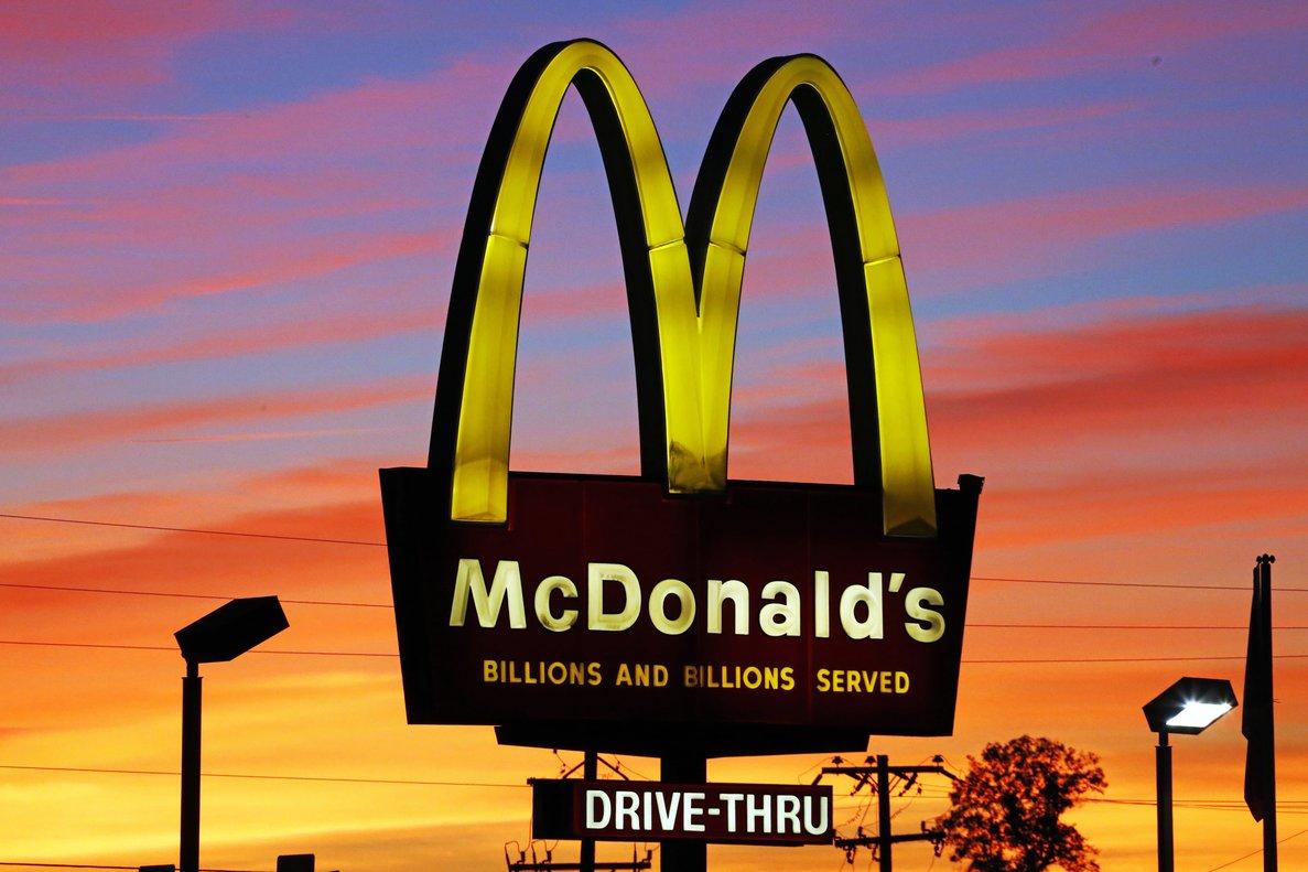 Uno de los establecimientos de McDonald's en Colombia.