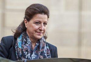 La ministra de Sanidad francesa, Agnès Buzyn, en París.