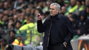 Mourinho, entrenador del Manchester United