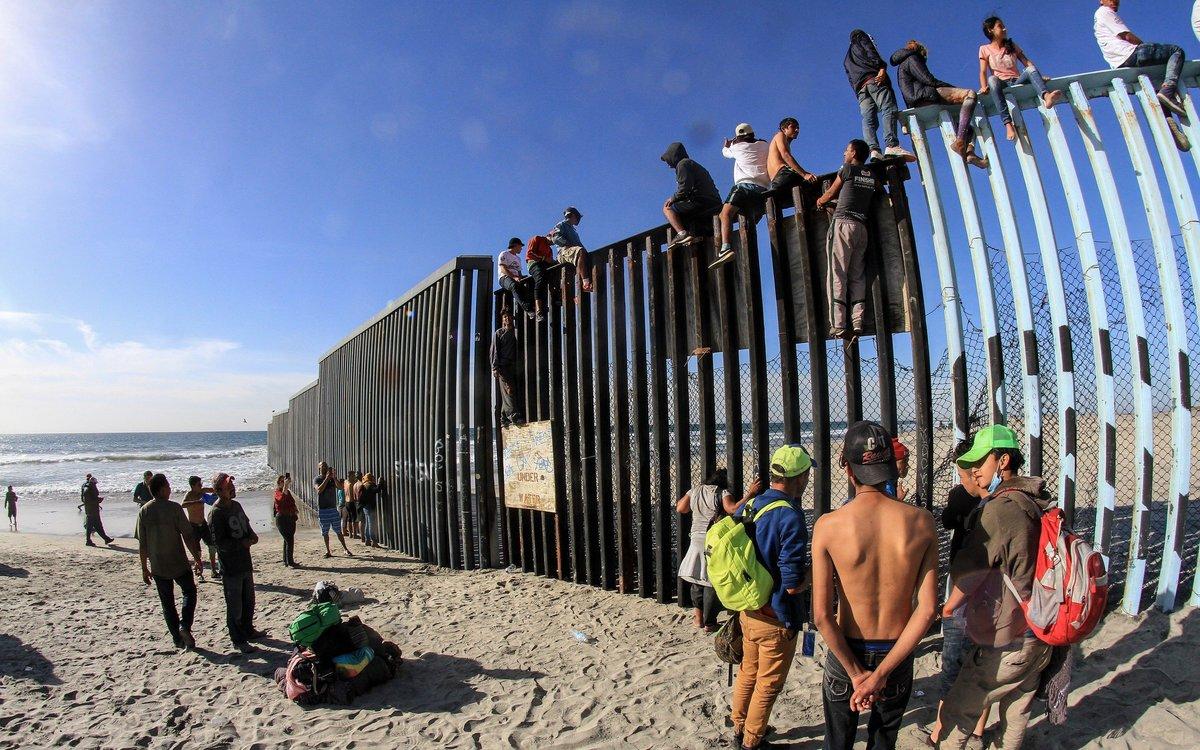 Resultado de imagen para migrantes en estados unidos mexico