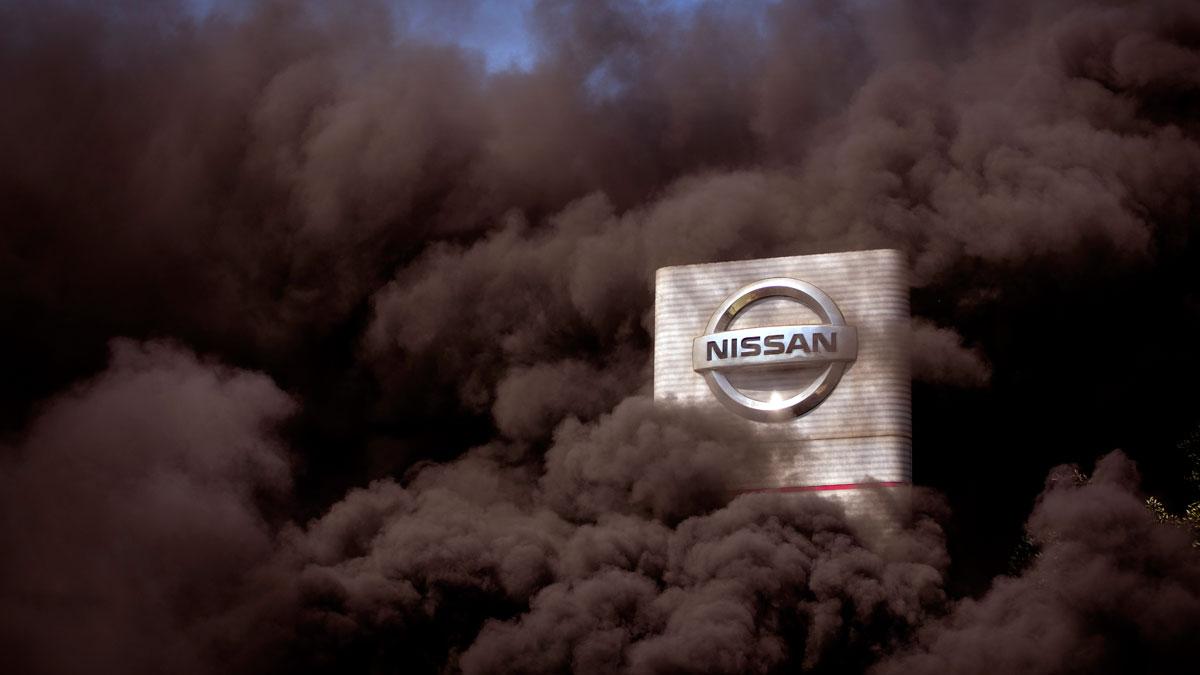 Nissan cierra sus fábricas en Catalunya