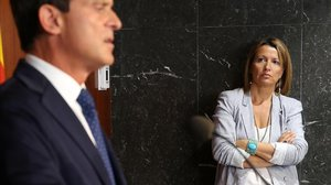 La número dos de Manuel Valls en el consistorio barcelonés, Eva Parera, impulsora de Lliga Democràtica.