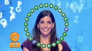 Susana García, concursante ganadora de Pasapalabra.