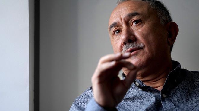Pepe Álvarez: «Ara el 40% dels treballadors podríem ser acomiadats»
