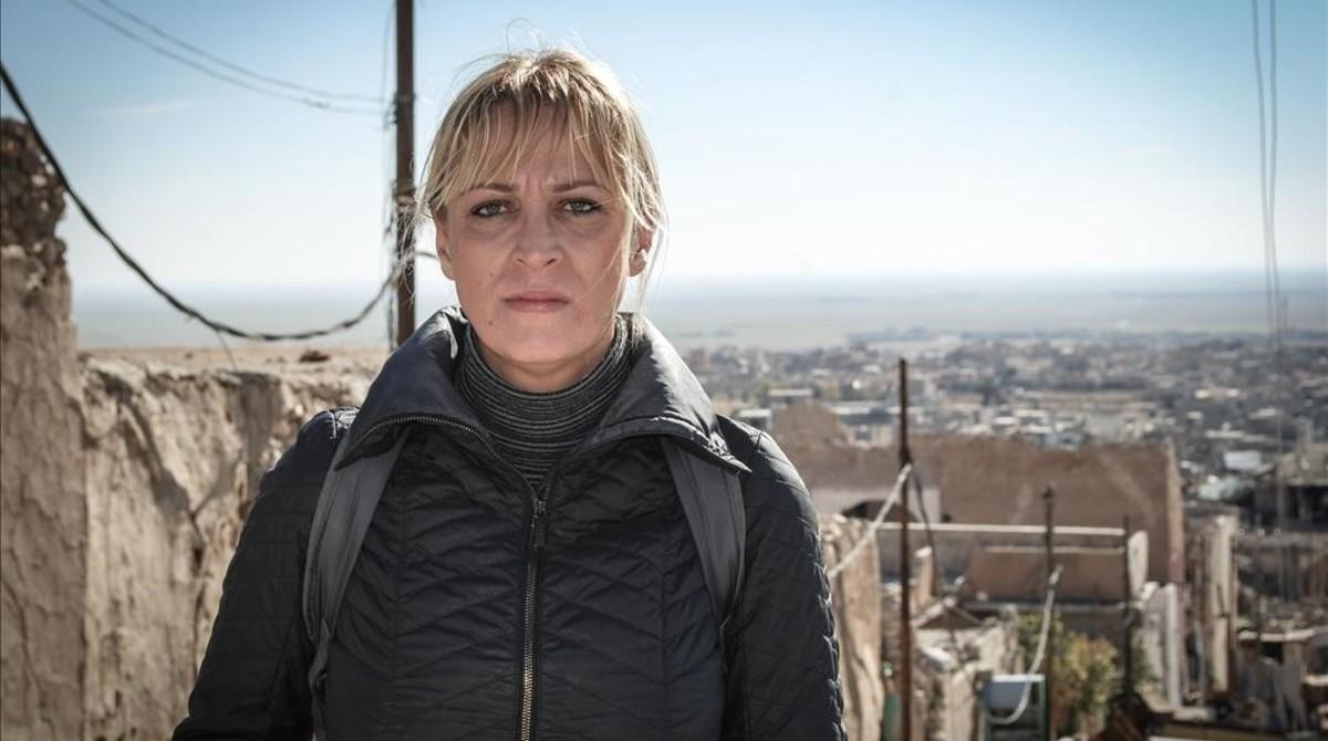 La periodista Ceyda Karan, el 1 de mayo del 2009.