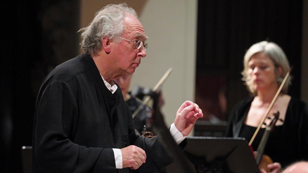 Philippe Herreweghe, en unade sus anteriores visitas, enel Palau de la Música.