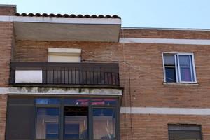 El piso donde se ha producido el doble crimen de Valladolid.