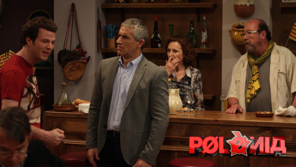Imagen de uno de los gags de la última emisión del programa de TV-3 Polònia.