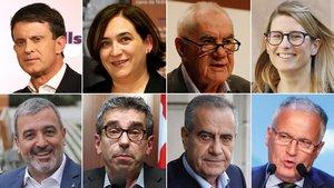 ¿Quins candidats aguantaran tot el mandat a Barcelona?