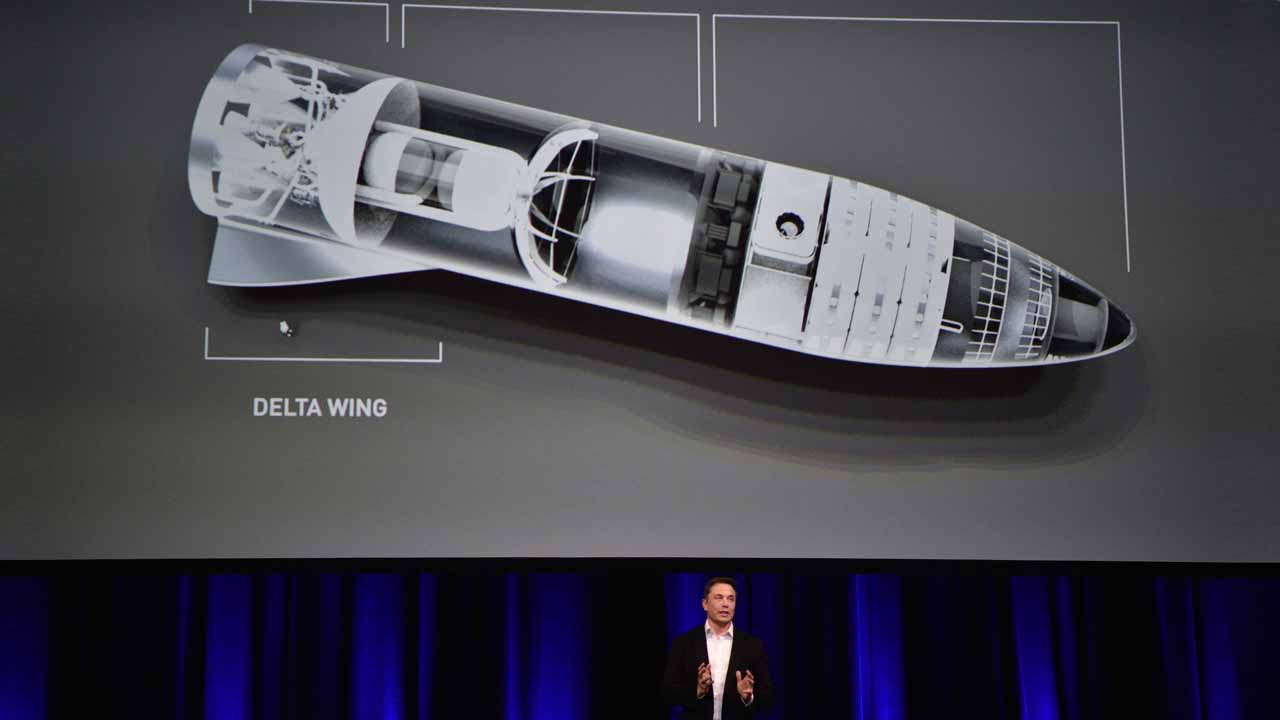 Munsk anuncia que ha firmado contrato el primer turista espacial para SpaceX.