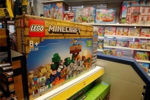 Producto de Lego en una juguetería alemana.