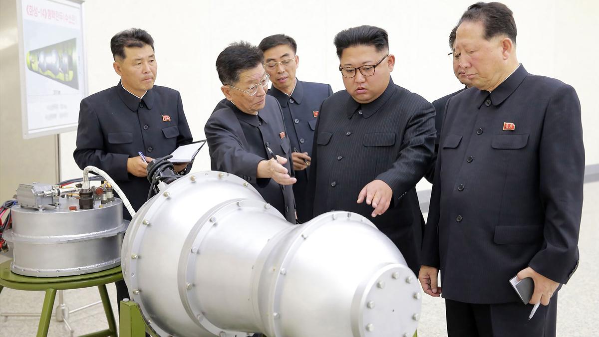Corea del Norte afirmó que ha probado la bomba de hidrógeno con total éxito y que puede ser instalada en uno de sus misiles balísticos intercontinentales.