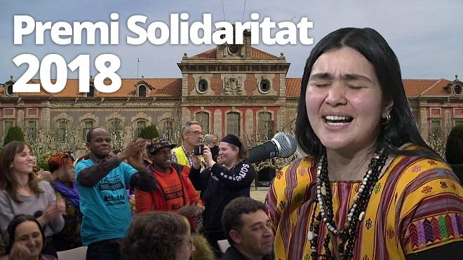 'En la rambla del Raval, todo el mundo vale igual'. El Espacio del Inmigrante recibe el Premi Solidaritat 2018.