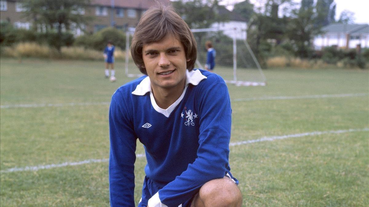 Ray Wilkins, en su etapa como jugador del Chelsea.