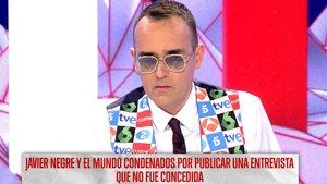 """Risto Mejide expulsa a Javier Negre de 'Todo es mentira': """"Ya no eres bienvenido"""""""