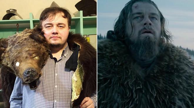 El gemelo ruso (y rellenito) de DiCaprio protagoniza un 'gag' de 'El renacido'