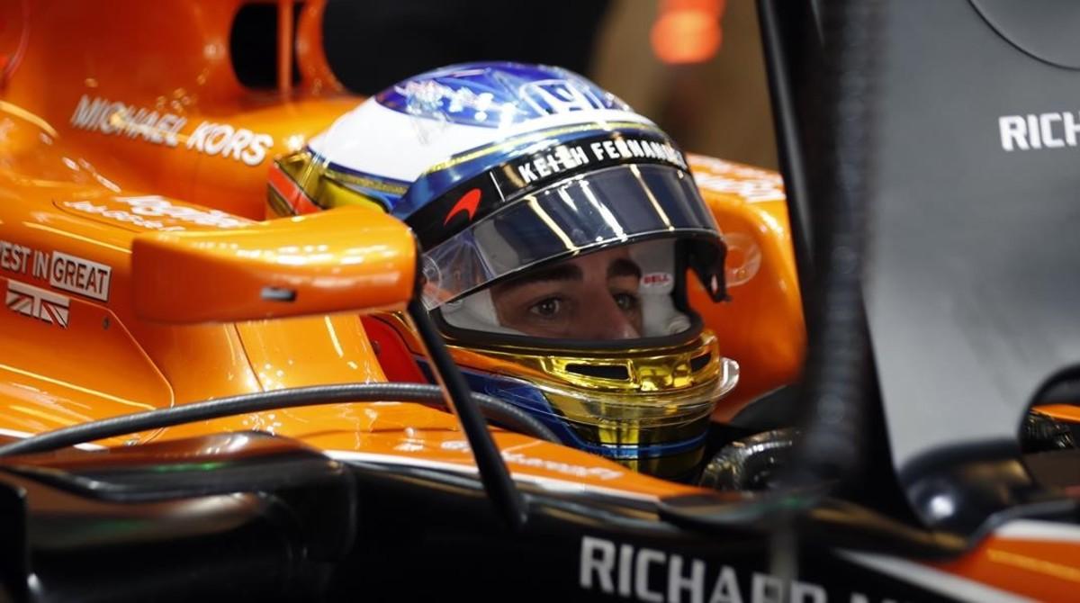 "Alonso: ""Vamos a intentar ganar las 24 Horas de Daytona"""