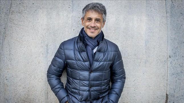 El cantante Sergio Dalma, el pasado febrero.