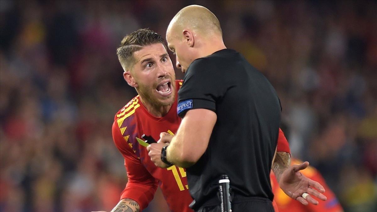 Sergio Ramos, de vuelta en el centro de la polémica