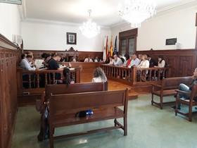 Sesión plenaria Ayuntamiento de Cornellà.