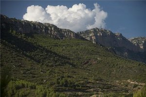 La sierra del Montsant.