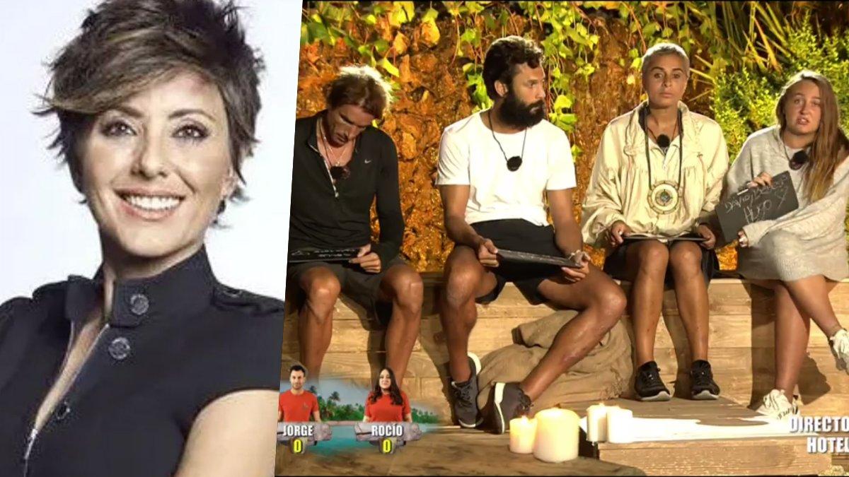 Sonsoles Ónega presentadora de 'A próposito de Supervivientes'.