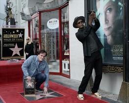 Tarantino, en el paseo de la fama de Hollywood