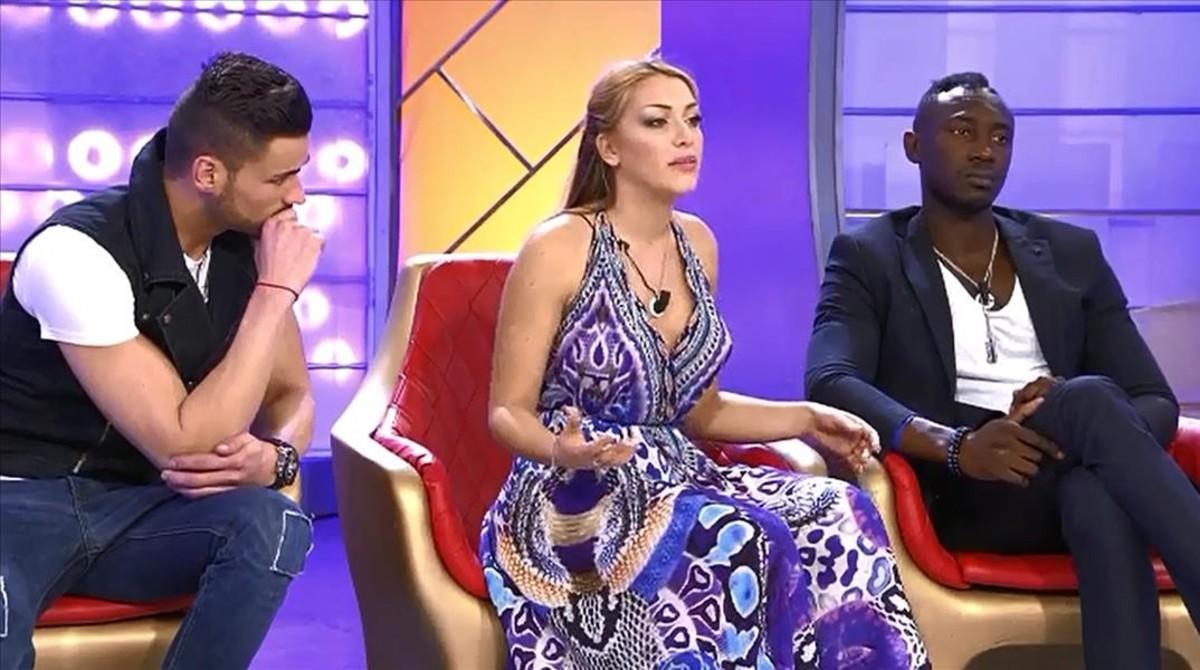 Tres participantes del programa Hombres, mujeres y viceversa, que emitirá Cuatro.