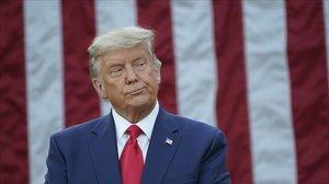 El todavía presidente de EEUU, Donald Trump.