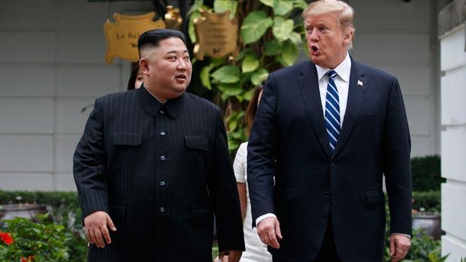 Trump y Kim acaban la cumbre sin alcanzar un acuerdo.