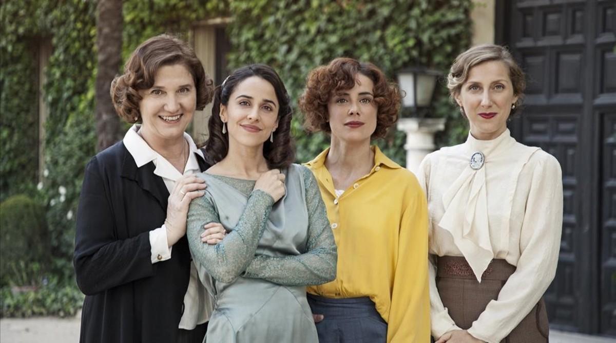 Ana Wagener, Macarena García, Pilar López y Cecilia Freire, protagonistas de La otra mirada.