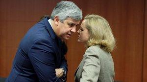 El president de l'Eurogrup s'autodescarta en la pugna per l'FMI