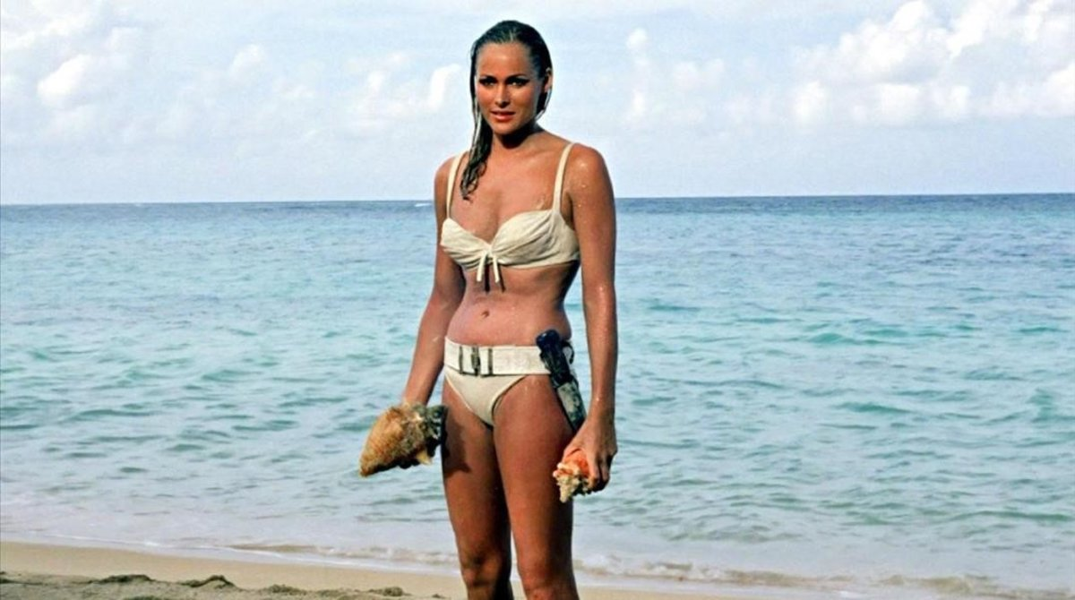 Ursula Andress en 'Dr. No' (1962).