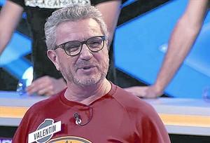Valentín, durante su confesión en el concurso de Antena 3 ¡Boom!.