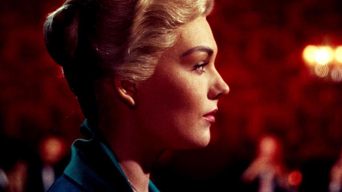 Kim Novak, en 'Vértigo' (Alfred Hitchcock, 1958), filme que se proyectará con una orquesta en directo en Aribau Multicines en dos sesiones el día 16 de diciembre.