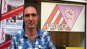 Eugeni Rodríguez, presidente del Observatorio contra la Homofobia de Catalunya.