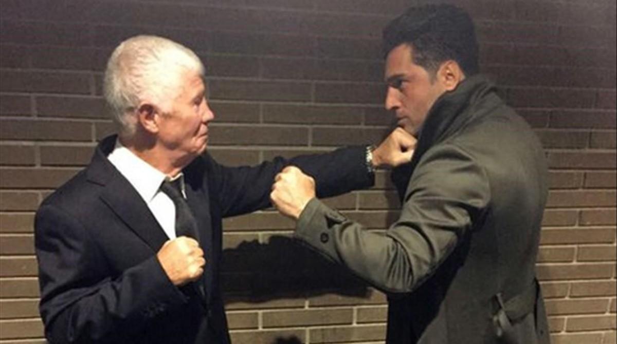 David Bustamante 'lluita' al ring contra el pare de David Bisbal