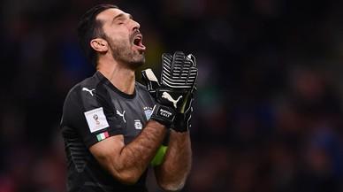 Italia se queda fuera del Mundial por primera vez en 60 años