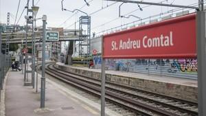 Estación de Sant Andreu Comtal de Rodalies.