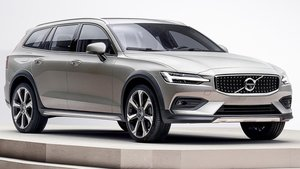Un modelo de Volvo V60 Cross Country.