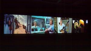 'Video quartet', de Christian Marclay.