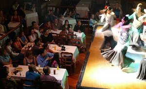 Tablao flamenco de Madrid.