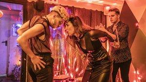 Flmaneco Queer en La Federica con Rubén Heras al baile y Cristina López, al cante.