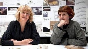 Yvonne Farrel y Shelley McNamara.