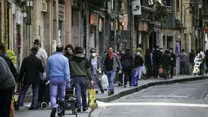 L'operatiu policial al Raval de Barcelona acaba amb tres detinguts