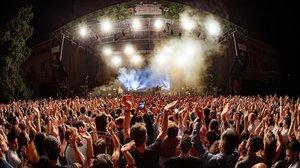 Concierto en el festival Jardins de Pedralbes, el pasado verano.