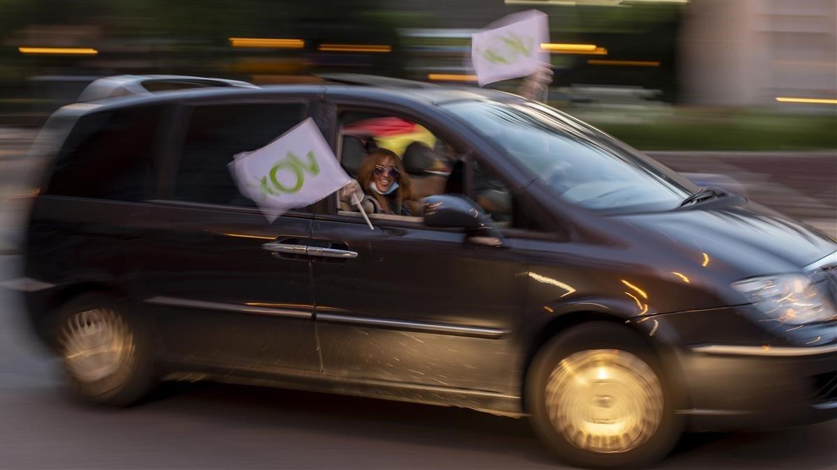 Vox podrà manifestar-se aquest dissabte a Catalunya